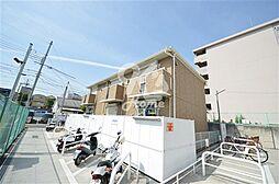 兵庫県神戸市須磨区松風町4丁目の賃貸アパートの外観