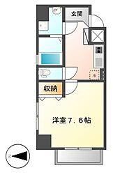 LEXCEEDizumi[4階]の間取り