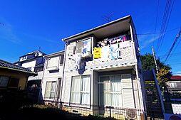 東京都清瀬市上清戸2丁目の賃貸アパートの外観