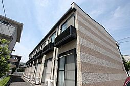 広島県福山市春日町2丁目の賃貸アパートの外観