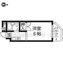 ファーマシー21[602号室]の間取り