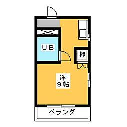 ラミエール11[3階]の間取り