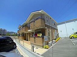 兵庫県宝塚市山本丸橋3丁目の賃貸アパートの外観