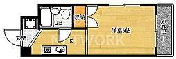 AP812[2-D号室号室]の間取り