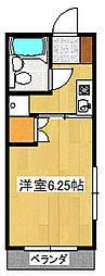 ファミールTコーポ[2階]の間取り