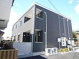 静岡県浜松市中区葵西1丁目の賃貸アパートの外観