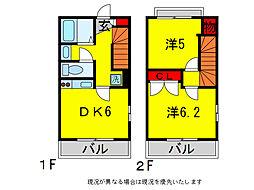 MIYAHARA M[2階]の間取り