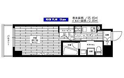 東京都江東区亀戸4丁目の賃貸マンションの間取り