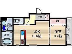 さくら2番館[3階]の間取り