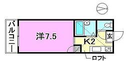 ロフティ90[105 号室号室]の間取り