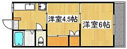 丸元ビル[2階]の間取り
