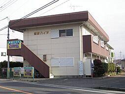 群馬県太田市熊野町の賃貸アパートの外観