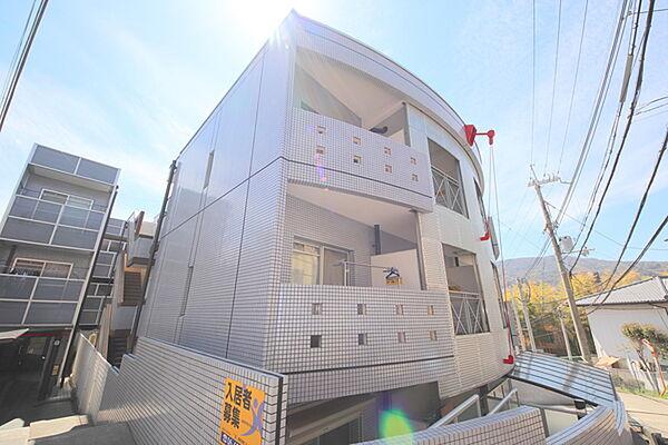 シティパレス生駒谷田町P-7[114号室]の外観