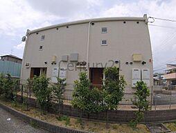 兵庫県宝塚市安倉中5丁目の賃貸アパートの外観