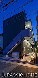 大阪府堺市堺区文珠橋通の賃貸アパートの外観