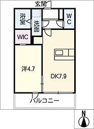 仮)ファミリーステージ八田[2階]の間取り