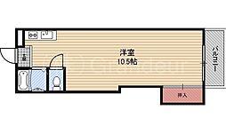 東洋プラザ桜ノ宮[2階]の間取り