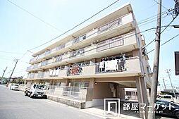 愛知県豊田市東梅坪町3丁目の賃貸マンションの外観