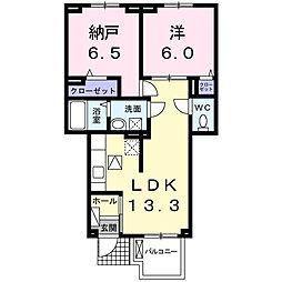 ジュビリーハウス[1階]の間取り
