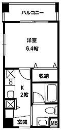 レジディア新川1[402号室]の間取り