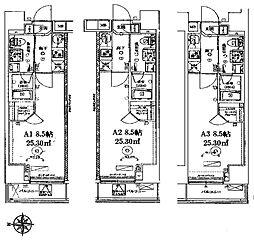 ベルシード中板橋II[5階]の間取り