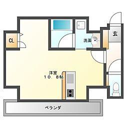 AXIS平尾1番館[9階]の間取り