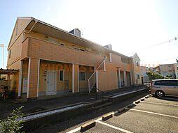 福岡県宗像市日の里3丁目の賃貸アパートの外観