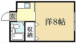 Casa Coraggio[2階]の間取り