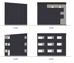愛知県名古屋市中村区畑江通4丁目の賃貸アパートの外観