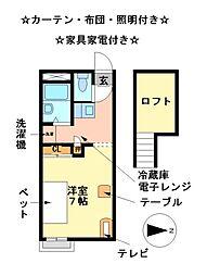 FURUTA[2階]の間取り