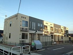 富山県富山市手屋1丁目の賃貸アパートの外観