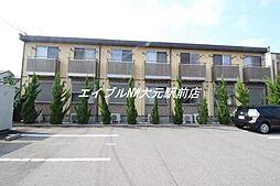 岡山県岡山市南区福島3丁目の賃貸アパートの外観