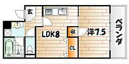 18ビル[3階]の間取り