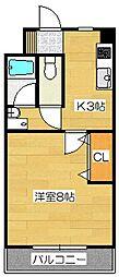 スリム太宰府[2階]の間取り