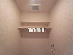 シティライフ田代のトイレ上の棚
