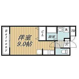 Liberty ozawaⅡ[2階]の間取り
