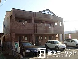 愛知県豊田市上野町8丁目の賃貸アパートの外観