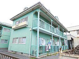 埼玉県越谷市相模町2丁目の賃貸アパートの外観