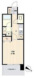 JR東北本線 長町駅 徒歩6分の賃貸マンション 3階1Kの間取り