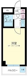 東京都新宿区高田馬場1丁目の賃貸マンションの間取り