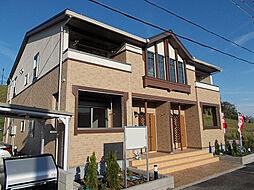 滋賀県大津市伊香立下在地町の賃貸アパートの外観