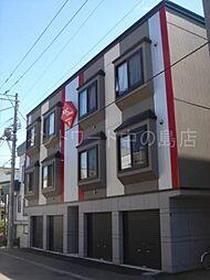 北海道札幌市豊平区平岸五条7丁目の賃貸アパートの外観