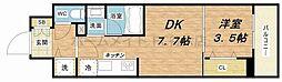 Larcieparc新大阪[5階]の間取り