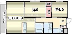 メゾン・ド・エトワール[305号室号室]の間取り