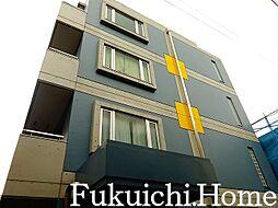 東京都渋谷区幡ヶ谷1の賃貸マンションの外観