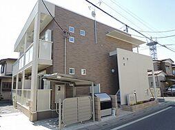 埼玉県春日部市粕壁の賃貸アパートの外観