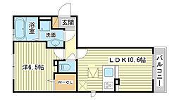 サンホーム富士[303号室]の間取り