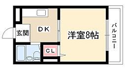 21ビル[101号室]の間取り