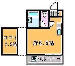 丸多喜A・P[2階]の間取り