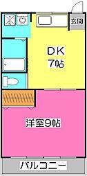 久保田ビル[2階]の間取り